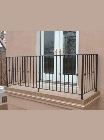 Balcony rail with Knuckles design