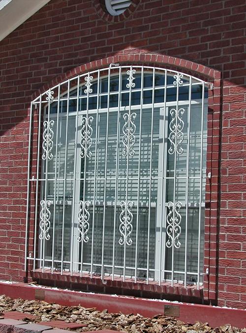 Unique Top Window Grill Design 2
