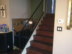 Standard stairway black.