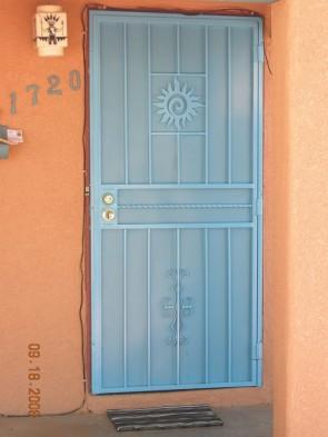 Sun design,Seville design,Twist center bar and perforated metal