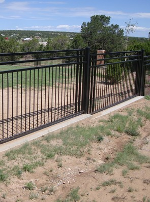 Custom design 5' high fence
