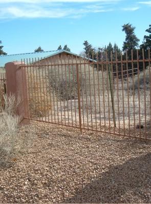 6' high fence