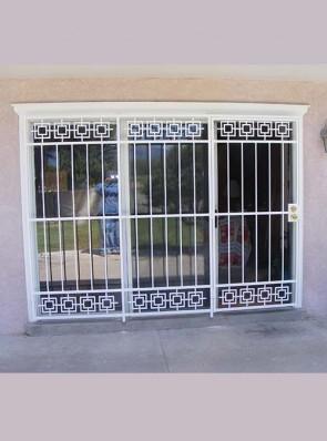 3 panel patio door with Modern design