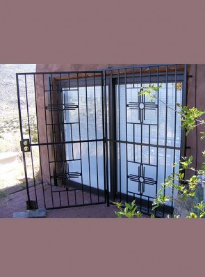 Patio door in Large Zia design