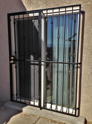 Patio door in Knuckles design