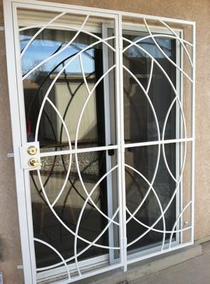 Patio door in Freeform design