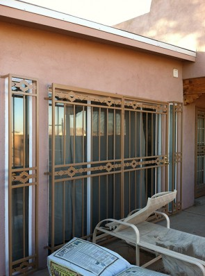 Patio door in High Desert design