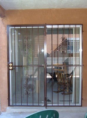 Patio door in Seville design