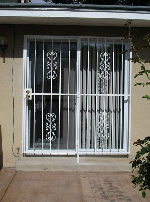 Patio door with Heritage design