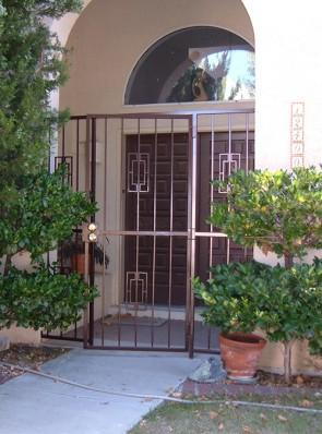 Porch enclosure in Contemporary design