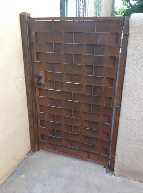 Gate in Basketweave sheet design