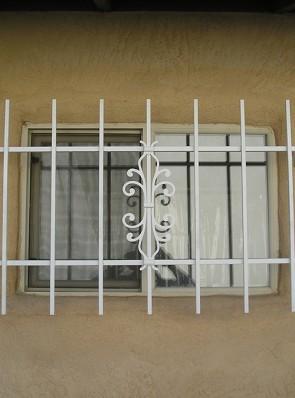 Window grill in Sundance design