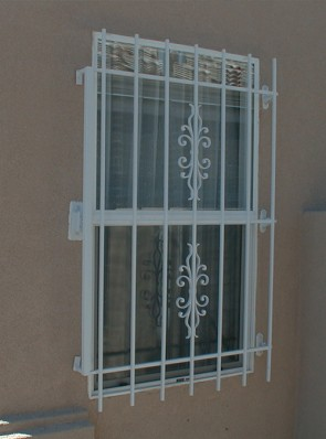 Window grill in Sundance design