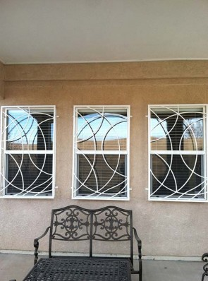 Window grill in Freeform design