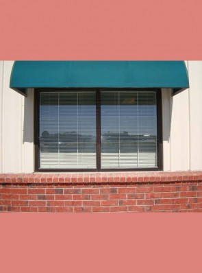 """Interior Storefront window grill in 1"""" Strap Divided Light design"""