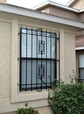 Window grill in Contemporary design