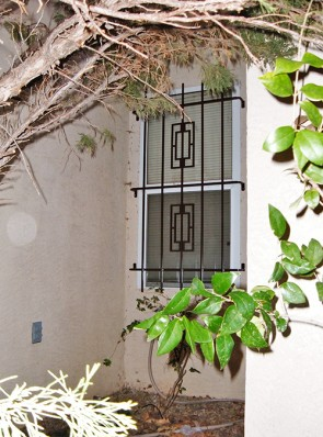 Window grill with Contemporary design