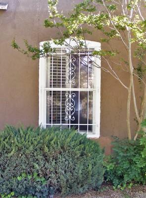Window grill in Sunbird design
