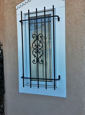 Window grill in Sunbird design