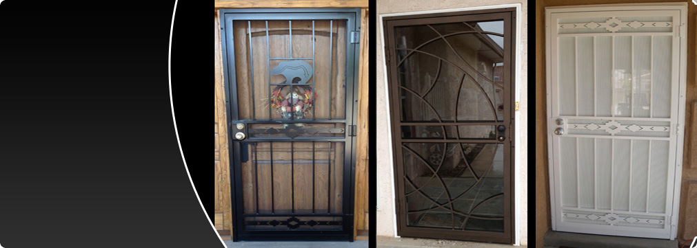 Security Storm Doors storm doors, screen doors, security doors, wrought iron albuquerque