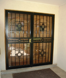 Double Security Storm Doors
