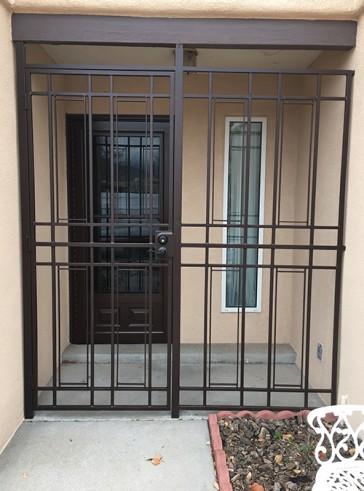 Porch enclosure with Shadow Box design