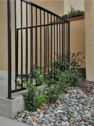"""48"""" high porch railing"""