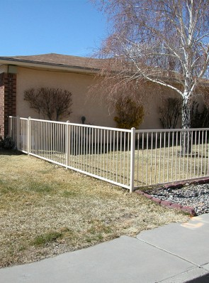 4' high fence