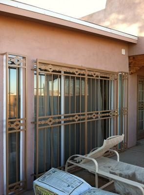Patio door in High Desert design