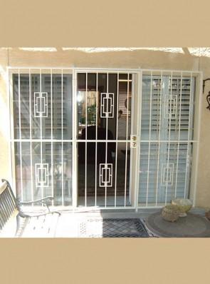 3 panel patio door with Contemporary design