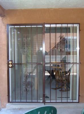 Patio door in Seville design