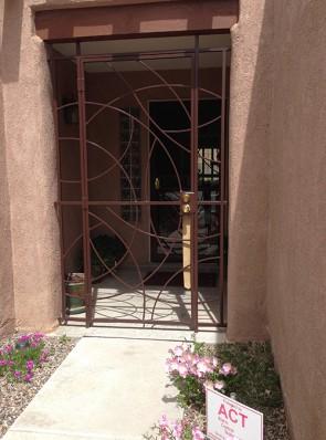 Porch enclosure with Freeform design