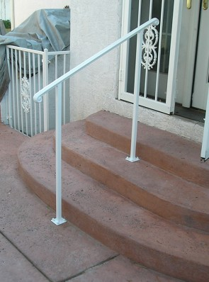 Moulded cap handrailing