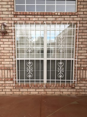 Window grill in Heritage design