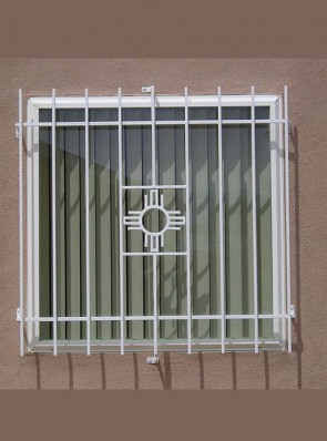 Window grill in Zia design