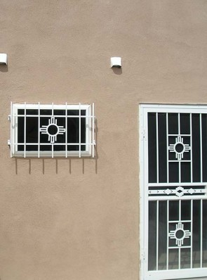Window grill and Door in Zia Design
