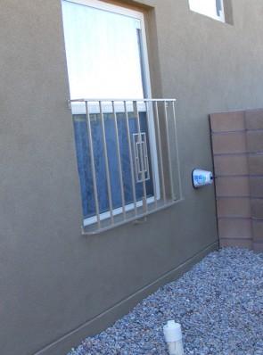 1/2 window grill in Contemporary design
