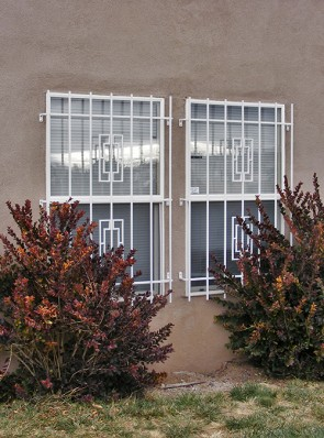 Window grills in Contemporary design