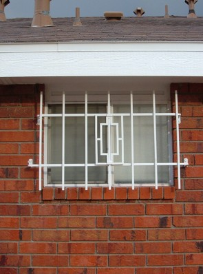 Window grill in Contemporary design