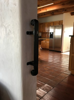 Wall mount grab bar