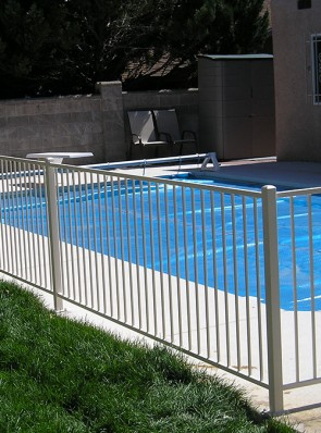 4' high pool railing